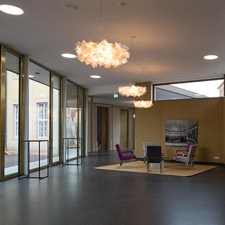 Genscher-Saal – Vermietung - Historische Kuranlagen & Goethe-Theater Bad Lauchstädt GmbH