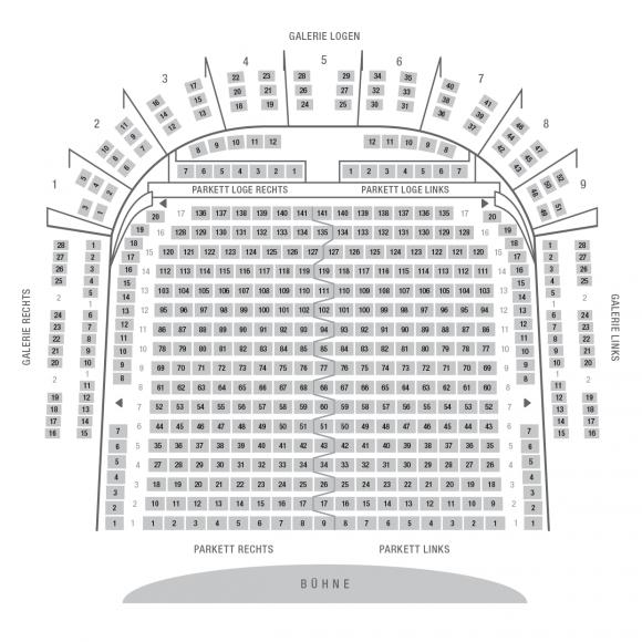 Goethe-Theater Bad Lauchstädt | Sitzplan