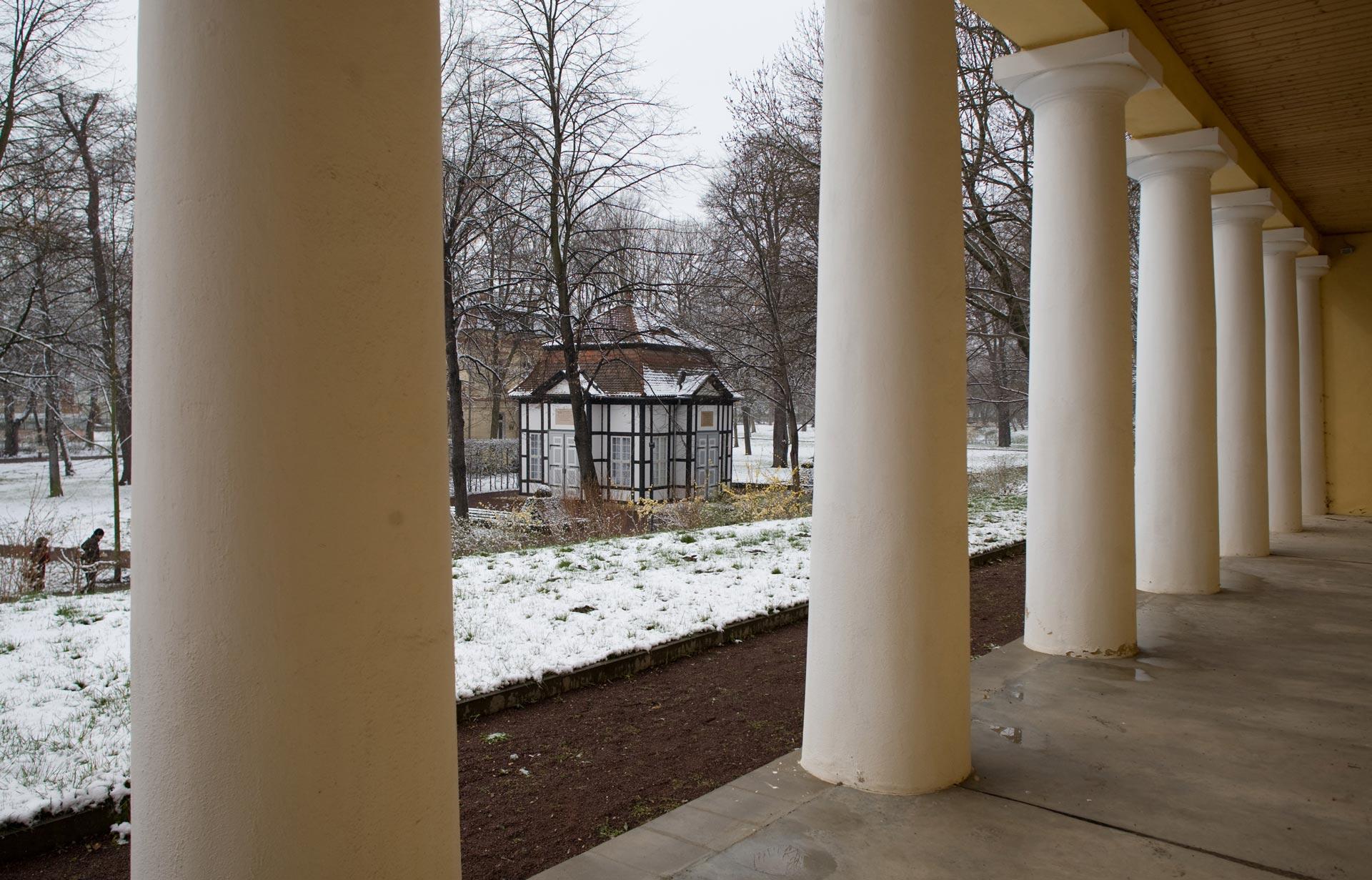 Historische Kuranlagen Bad Lauchstädt - Winter