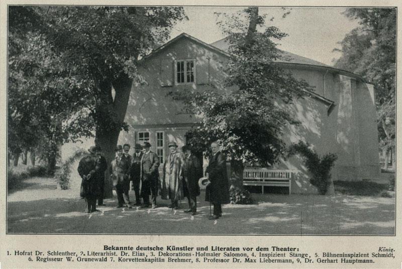Goethe-Theater, 1912