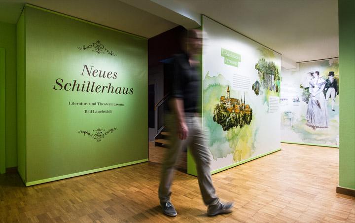 Neues Schillerhaus – Theater- und Literaturmuseum | Bad Lauchstädt