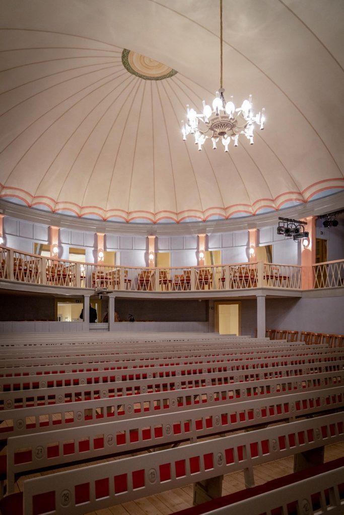 Goethe-Theater – Bestuhlung im Parkett